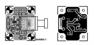 Optical S PDIF Output Schematic Diagram