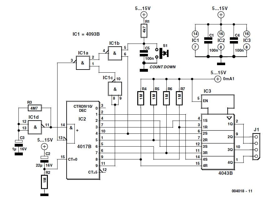 Power-On Sequencer Schematic Circuit Diagram