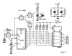 Power-On Sequencer Schematic Diagram