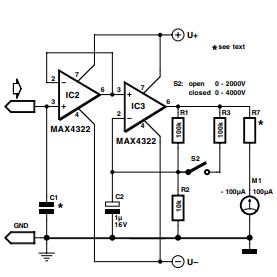 Precision Electroscope Schematic Diagram 1