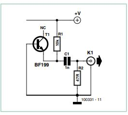 Clock Pulse Generator Schematic Circuit Diagram