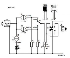 Simple mV Source Schematic Diagram