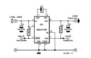 Step-Up or Step-Down Schematic Diagram 1