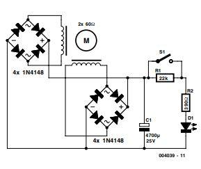 Stepper Motor Generator Schematic Diagram
