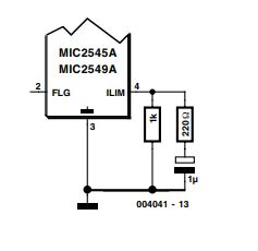 Switch ICs with Adjustable Current Limiting Schematic Diagram 3