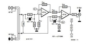 Video-Out Coupling Schematic Diagram