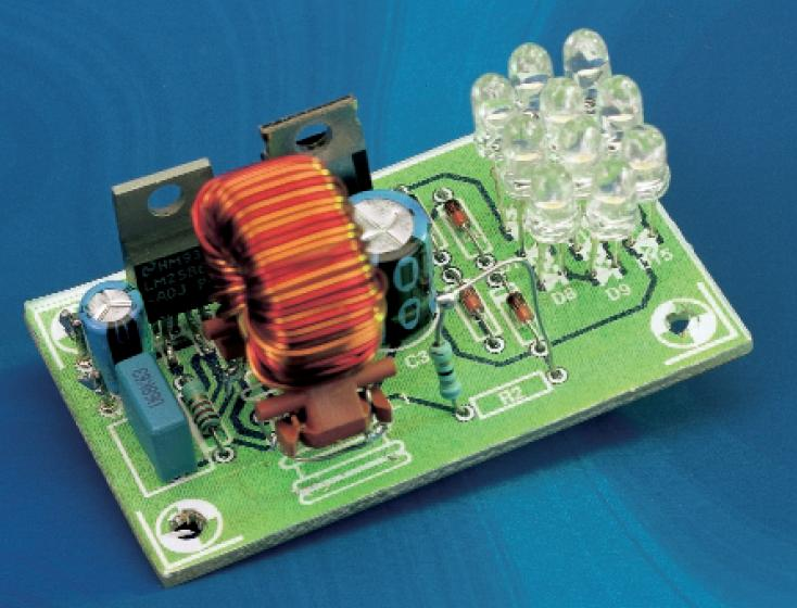 Compact Switching Step-Down Converter Schematic Circuit Diagram