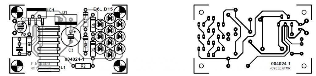 White LED Lamp Schematic Circuit Diagram 3