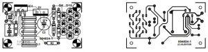 White LED Lamp Schematic Diagram.