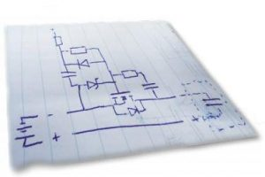 Acoustic Spirit Level / Tilt Alarm Schematic Circuit Diagram