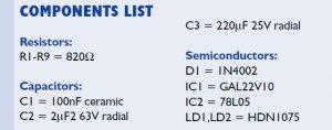 4-Bit Decimal Display Schematic Circuit Diagram 3
