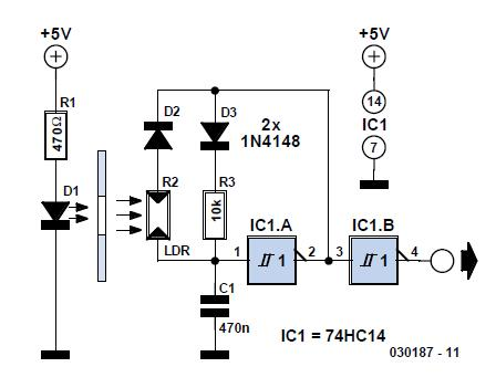Attitude Sensor Schematic Circuit Diagram