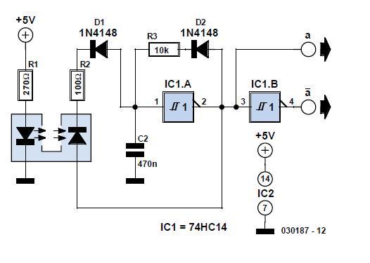 Attitude Sensor Schematic Circuit Diagram 2