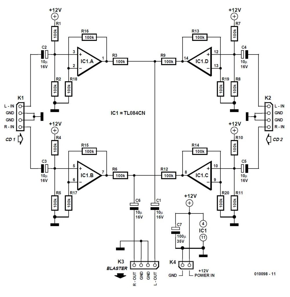 Pushbutton Switch Schematic Circuit Diagram