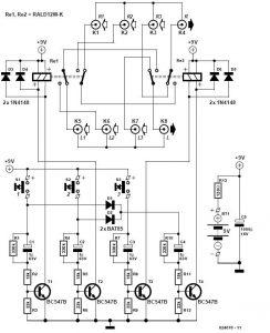Audio Switchbox Schematic Circuit Diagram 1