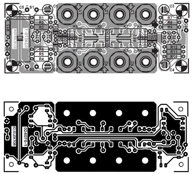 Audio Switchbox Schematic Circuit Diagram 2
