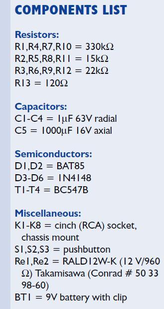 Audio Switchbox Schematic Circuit Diagram 3