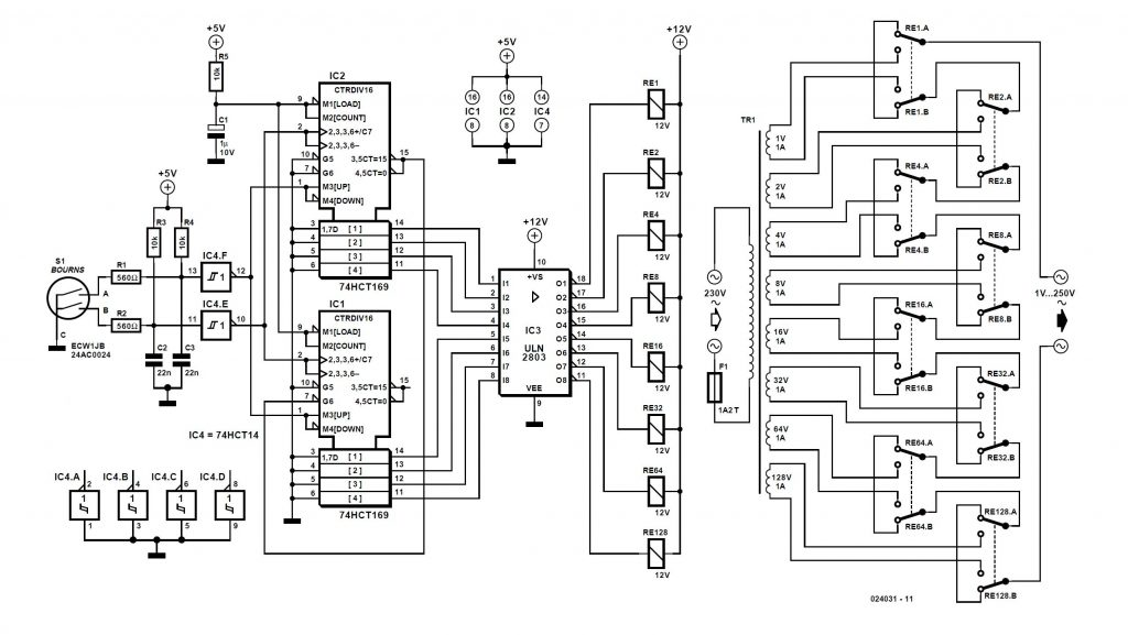 Constant Voltage Schematic Circuit Diagram