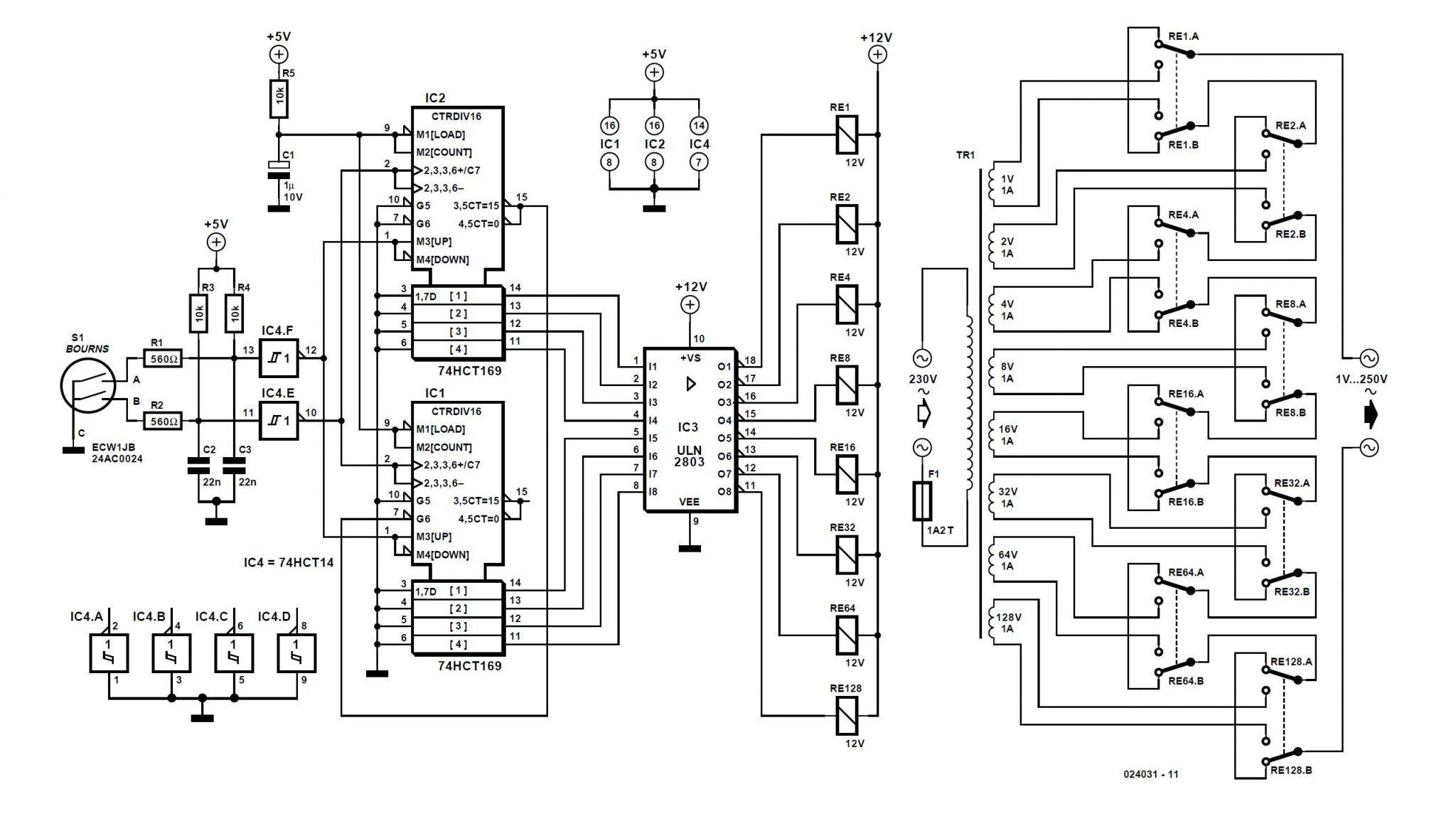 Digital Transformer Schematic Circuit Diagram