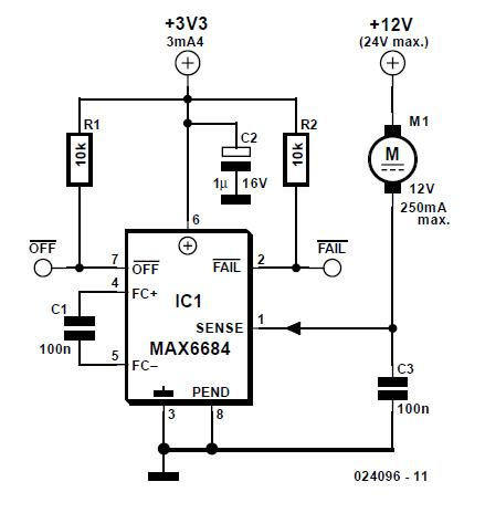 Fan Monitor Schematic Circuit Diagram