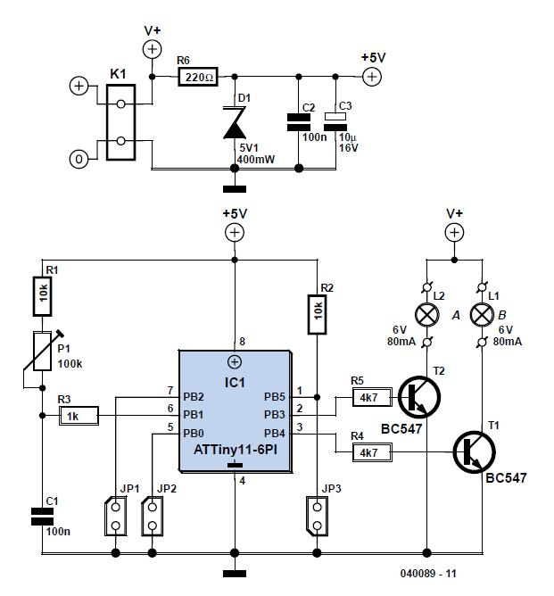 Monitor Life Xtender Schematic Circuit Diagram