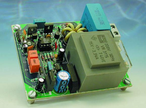 Mains Remote Transmitter Schematic Circuit Diagram