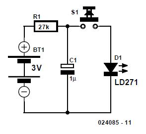 Simple IrDA Transmitter Schematic Circuit Diagram