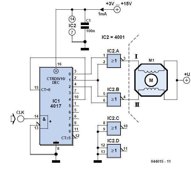 Intelligent Flickering Light Schematic Circuit Diagram