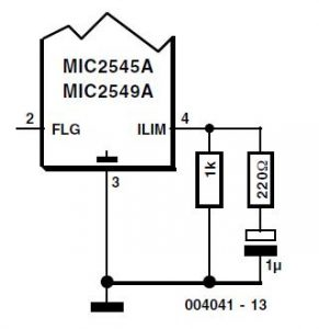 Switch ICs with Adjustable Current Limiting Schematic Circuit Diagram 3