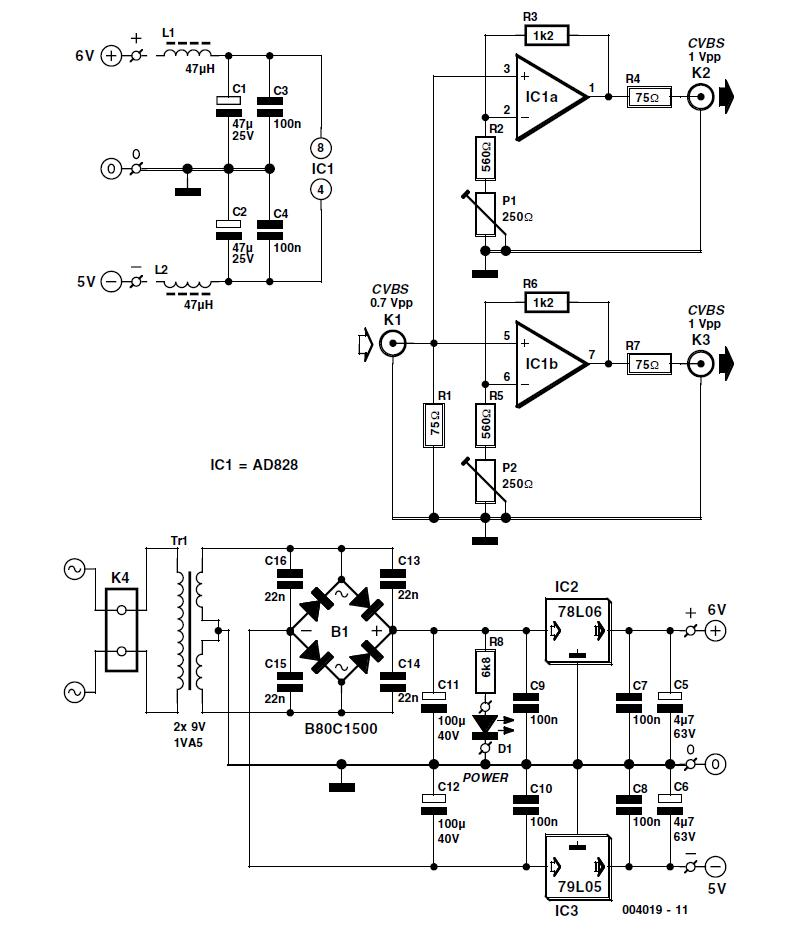 Video Correction for Pinnacle Studio MP10 Schematic Circuit Diagram