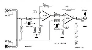 Video-Out Coupling Schematic Circuit Diagram