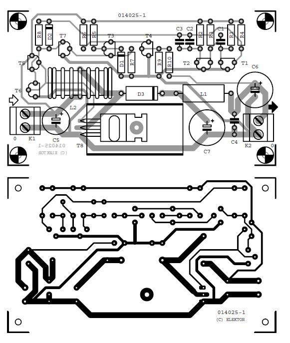 12v To 24v Converter Schematic Circuit Diagram