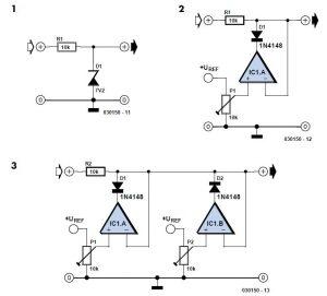 Adjustable Zener Diode Schematic Circuit Diagram