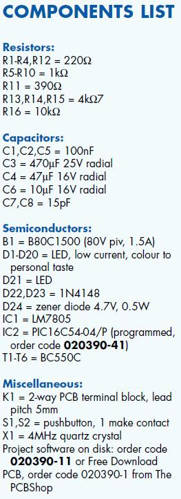 Binary Clock Schematic Circuit Diagram 3