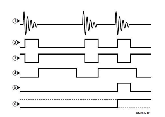 Clap Activated Switch Schematic Circuit Diagram