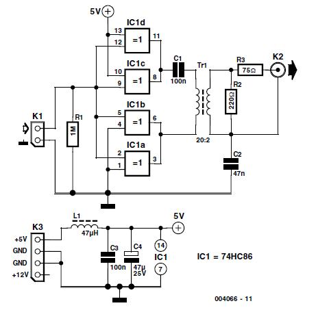 PC Battery Charger Schematic Circuit Diagram