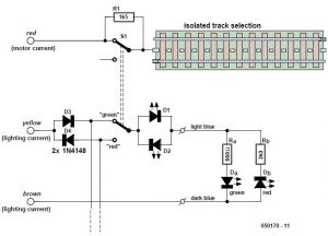 Design for Märklin Light Signals Schematic Circuit Diagram