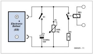 Dimmable Aquarium Light with Simulated Sunrise and Sunset Schematic Circuit Diagram