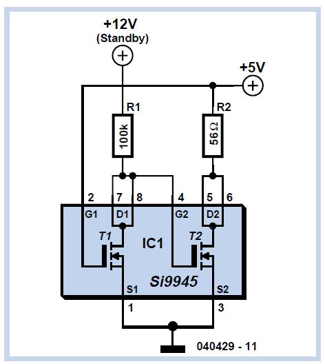 Simple Oscillator / Pipe Locator Schematic Circuit Diagram