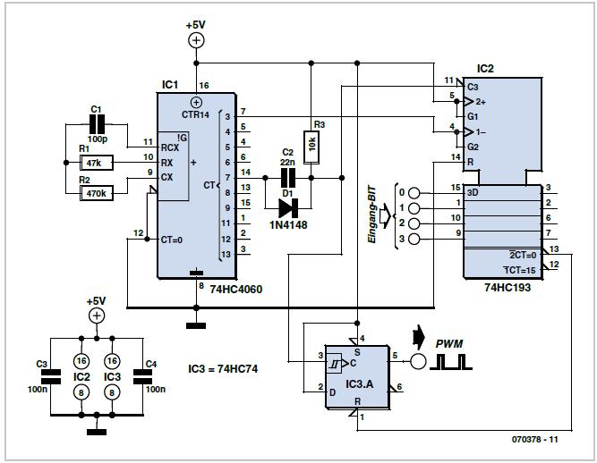 Simple One-wire Touch Detector Schematic Circuit Diagram