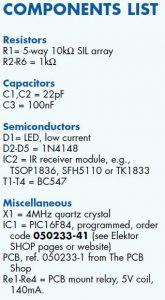Easy Home Remote Control Schematic Circuit Diagram 3