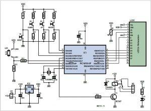 Flowcode for Garden Lighting Schematic Circuit Diagram 1
