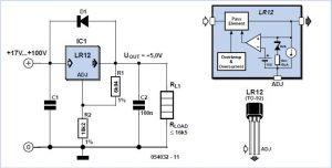 High Voltage Regulator Schematic Circuit Diagram