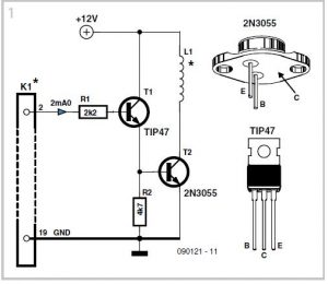 Impact Clock Schematic Circuit Diagram