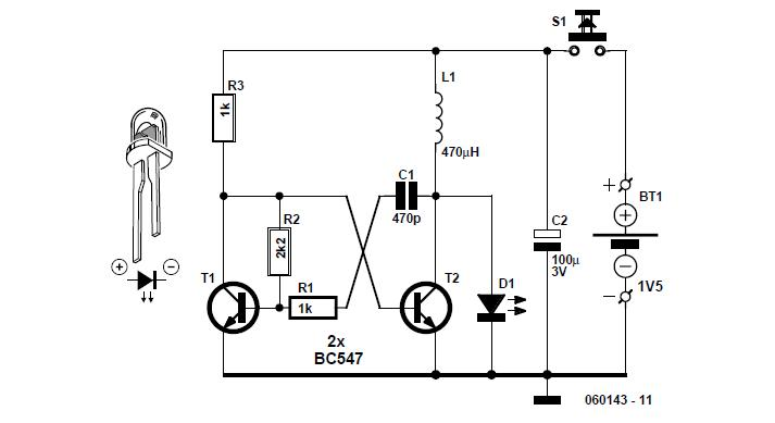 LED Phototherapy Unit Schematic Circuit Diagram