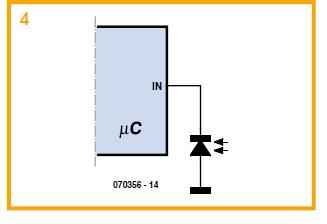 Light Sensing with an LED Schematic Circuit Diagram 4