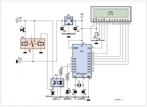 Quartz Crystal Tester Schematic Circuit Diagram