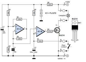 Luxury Car Interior Light Schematic Circuit Diagram1