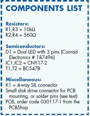 Multicolour HD LED Schematic Circuit Diagram Component List