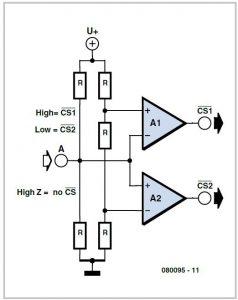 Multitasking Pins Schematic Circuit Diagram